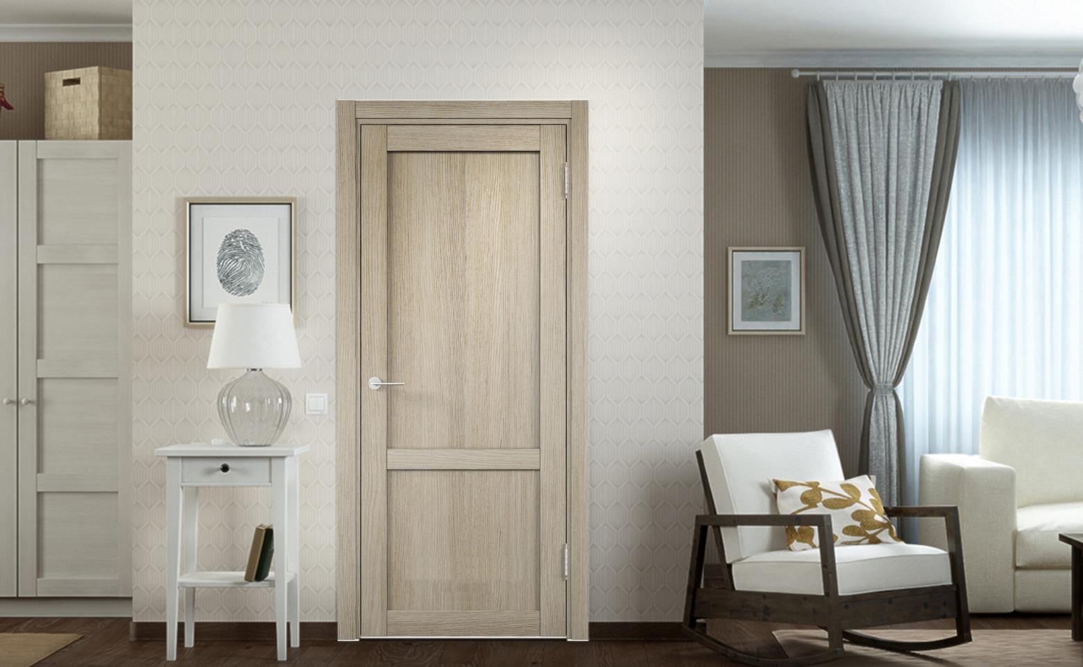 Двери Рим Венециано слоновая кость в интерьере | 961x1561